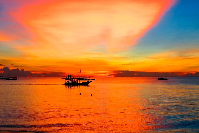 Sunset Dhow Cruise from Nungwi with Snacks Included