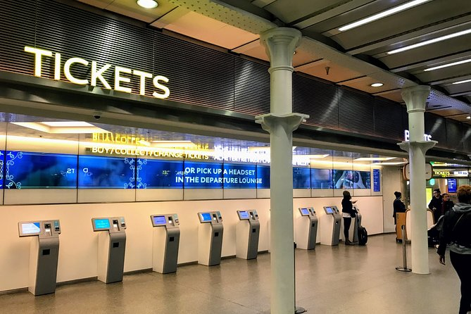 Private transfers between Stansted - King's Cross & St Pancras Train Stations