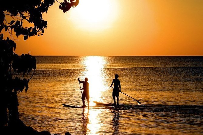 Sunset Guided Stand Up Paddle Lagoon Tour at Ishigaki