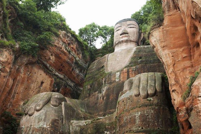 One Day Bus Tour to Chengdu Panda Base and Leshan Giant Buddha