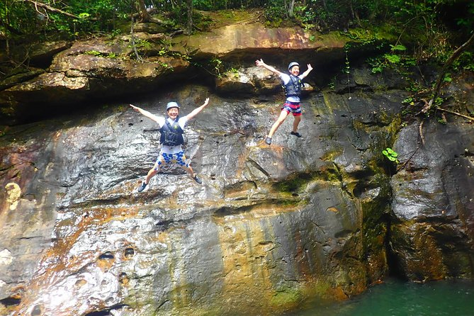 [Okinawa Iriomote] Splash Canyoning + Sightseeing in Yubujima island