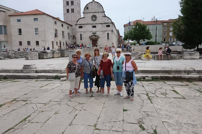 Zadar City Tour - Groups 120min Walk