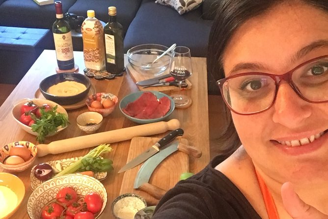 ONLINE STREAMING typical cooking class from Arianna's Tuscan home