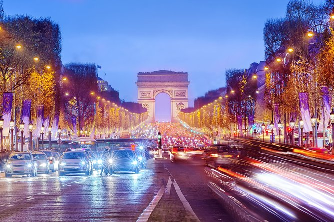 Free & Easy Day Trip by Eurostar from London to Paris with Open Top Bus Tour