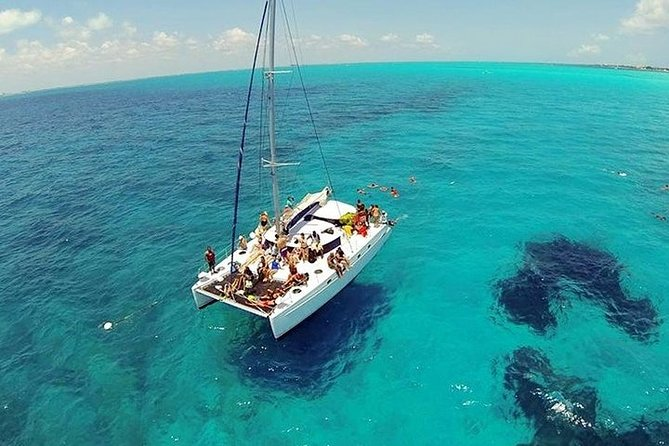 Catamaran to Isla Mujeres With Open Bar