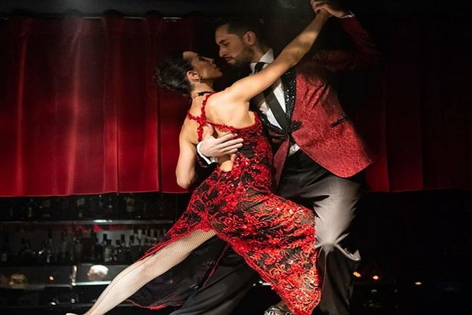 Rojo Tango Show Ticket with Private Transfers in Buenos Aires