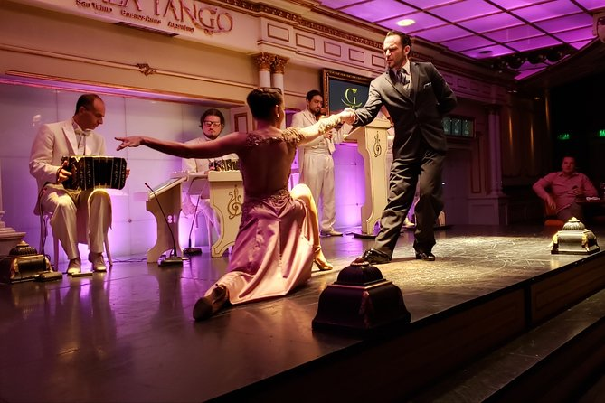 Tango Show at Gala Tango with optional dinner in Buenos Aires
