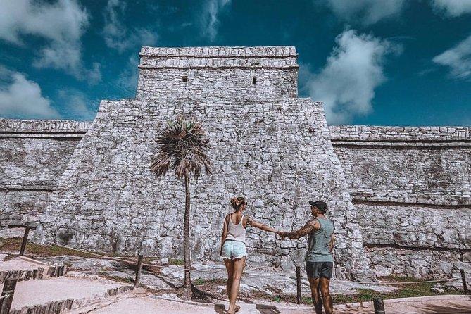 4 ADVENTURES 1 DAY Tulum Coba Cenote and Playa del Carmen