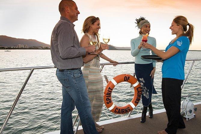 Cairns Luxury Catamaran Harbor and Dinner Cruise
