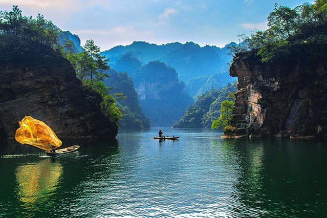 Discovery Day Tour to Yellow Dragon Cave,Baofeng Lake and Xibu Street