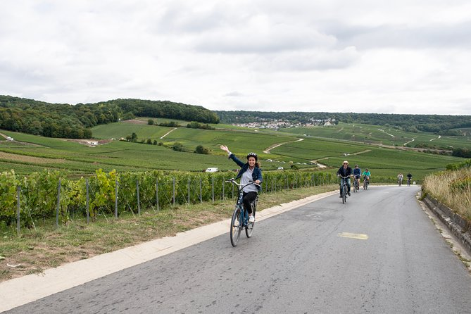 Epernay: Champagne Day Trip with E-Bike Including Family-run Winery and Lunch