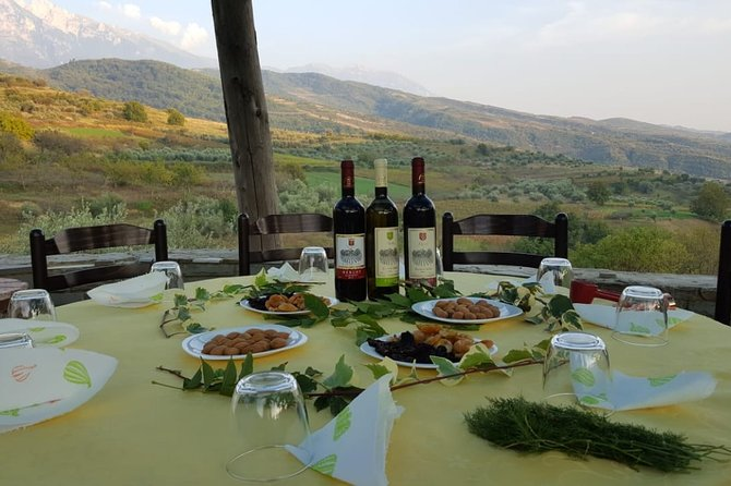 Berat tour to the three top wineries and lunch
