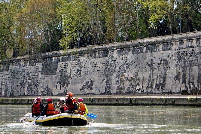 Rafting on the Tiber