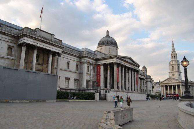 Walking group tour of London