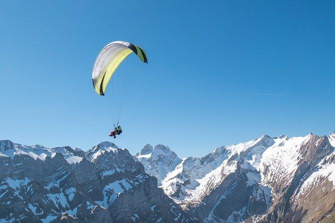 Paragliding Tandem Flight Adventure in Alpstein