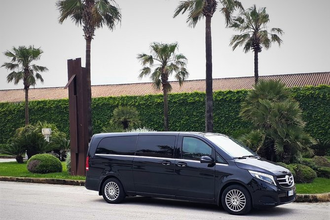 Private transfer from Palermo airport to Palazzo Brunaccini or vice versa