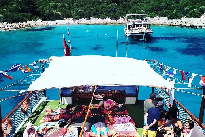 Daily Boat Tour (Orak Island) around Bodrum and Black Island Coves