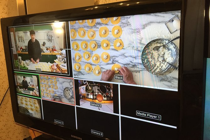 Virtual class from Tuscany one-hour gluten free ravioli from scratch