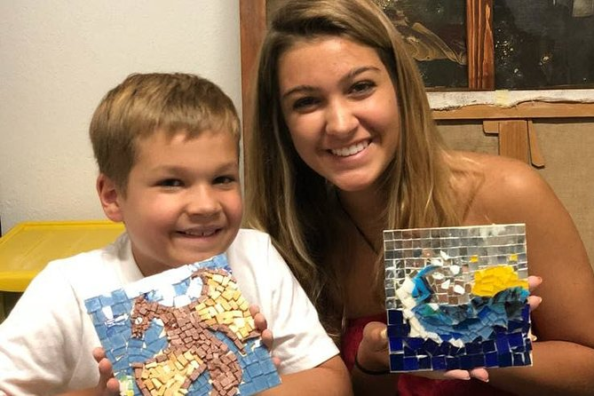 Mosaic Making Workshop for Kids | Private Virtual Craft Tour