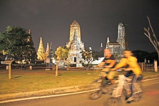 Excursión de media jornada Ayutthaya Sunset Bicycle
