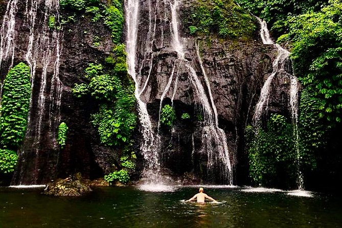 Natural Waterfalls Tour Bali