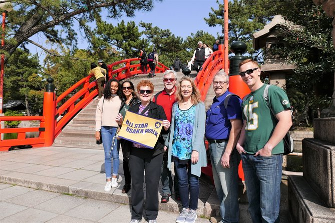 Sumiyoshi Taisha Shrine and Kuromon Market Visit