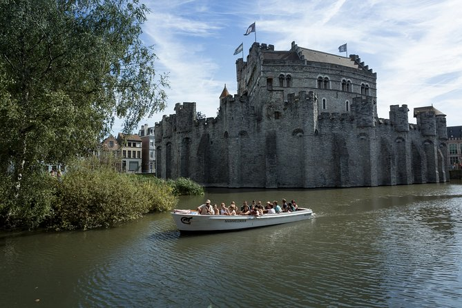 Guided Boat Trip in Ghent