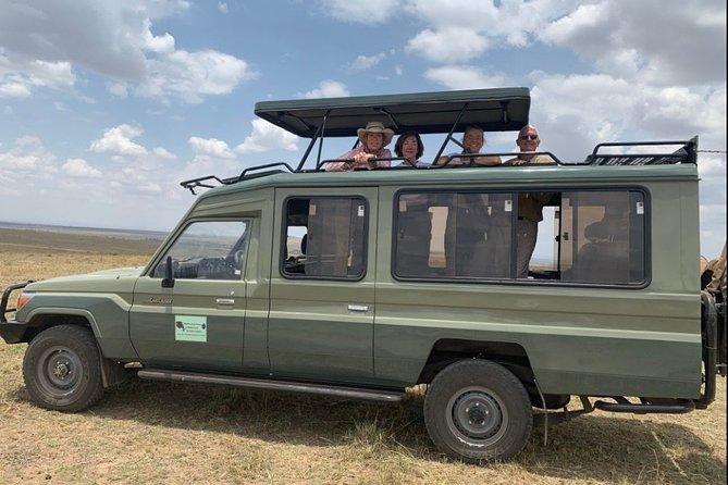 9 Days Amboseli, Aberdare, Ol Pejeta, Lake Naivasha, Masai Mara Private tour