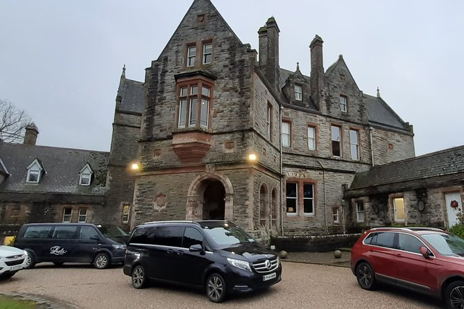 Castle Leslie Estate To Dublin Airport or Dublin City Private Chauffeur Transfer