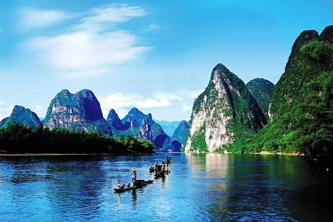 Yangshuo and Li-River Cruise Private Day Trip from Guangzhou by Bullet Train