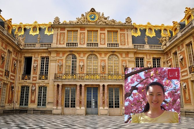 1-Hour Guided Virtual Reality Tour of the Palace of Versailles (Times in EST)