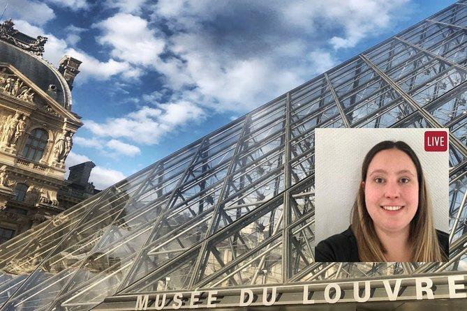 Paris' Louvre Museum Virtual Guided Tour (Times in EST)