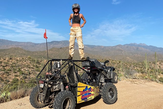 2 Person Guided U-Drive ATV Sand Buggy Tour Scottsdale/Phoenix photo 23