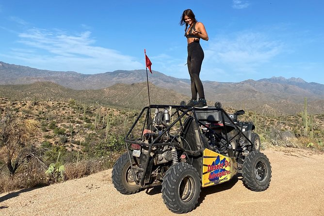2 Person Guided U-Drive ATV Sand Buggy Tour Scottsdale/Phoenix photo 29