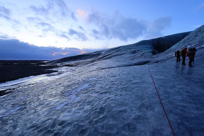 Day Trip - Blue Ice Cave Exploration (with return flight from Reykjavik)