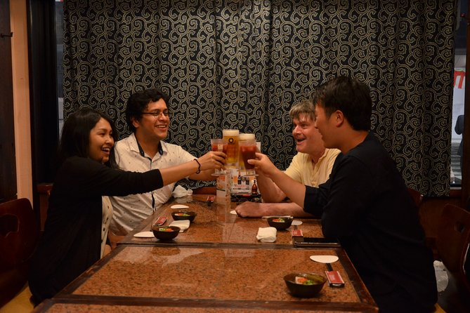 Private Guided Japanese Pub Hopping Tour at Furumachidori