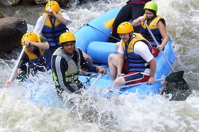 Full day Rafting with Rope bridge and Flying fox