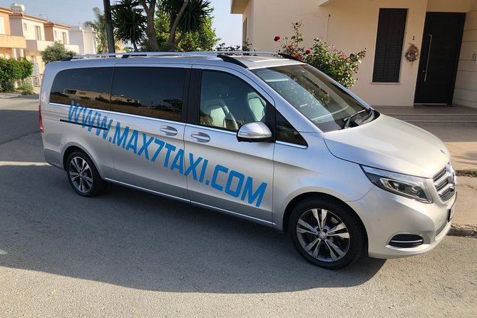 Private Minivan Transfer from Larnaca Airport to Protaras up to 7pax in Taxi
