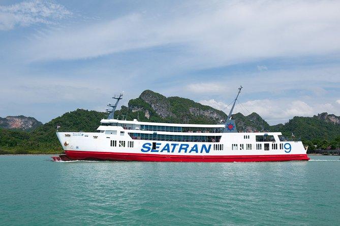 Krabi To Koh Phangan(Phangan Island) by Bus and Ferry