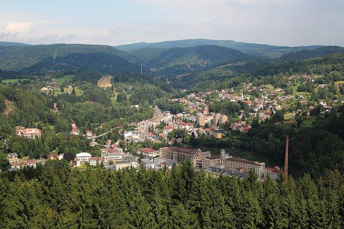1-dayBike Tour - History of Glass in the Jizera Mountains