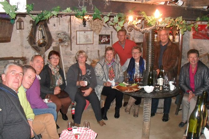 Winemaker's aperitif with Tasting and Chiroubles Chew
