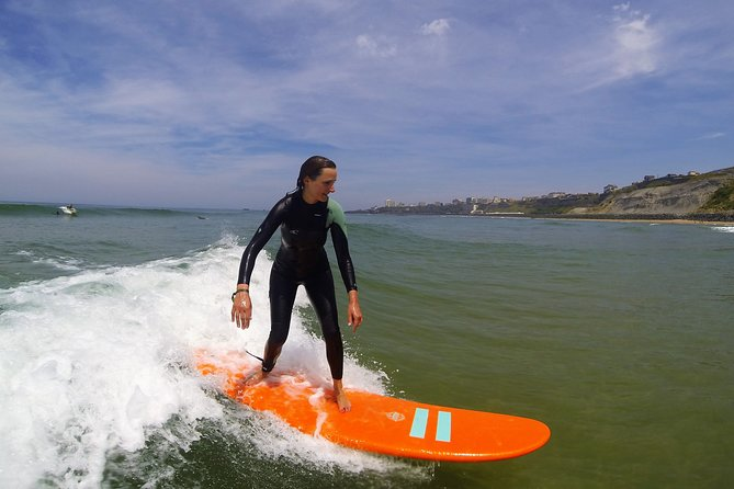 Biarritz private surf lessons