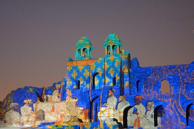 Delhi's Formidable History - A Light and Sound Show at Purana Quila