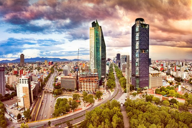 Privat tur: Mexico City med fly på en dag fra Cancun og Riviera Maya