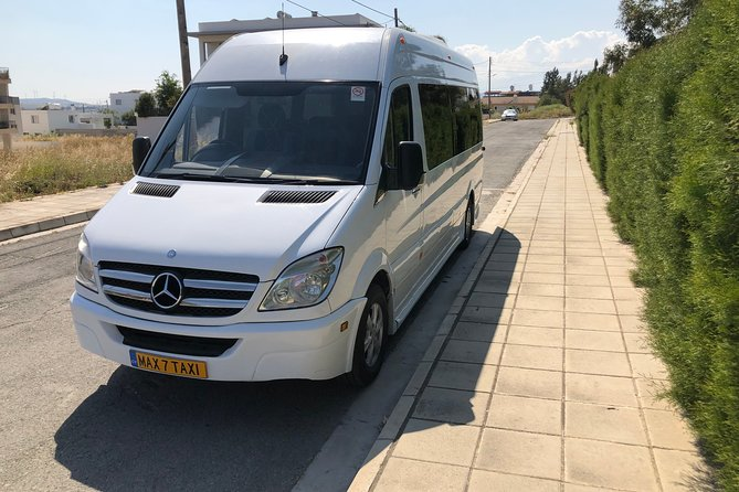 Private Minibus Transfer from Larnaca International Airport to Paphos