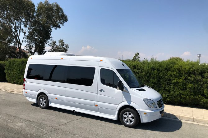 Private Transfer from Limassol to Larnaca Airport 1-15(pax) with Taxi