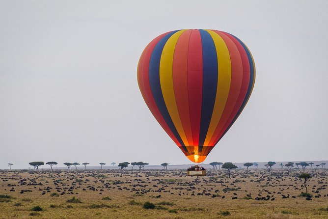 3-Days Masai Mara Private Safari Combined with Hot Air Balloon Ride Experience
