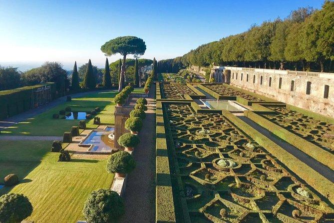 Castelgandolfo Pontifical Villas - Summer Residence of the Pope from Rome