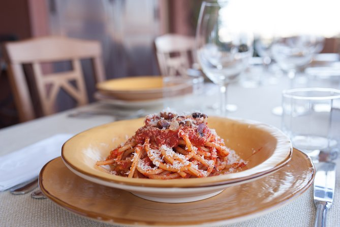 "Virtual Cooking Class: Carbonara, Amatriciana, Pesto & ""pasta al dente"""