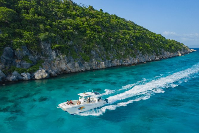 """Full Day Private Boat Charter exploring the """"Best of the USVI"""""""